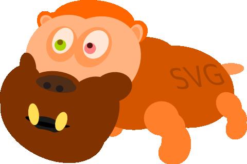 SVG beast